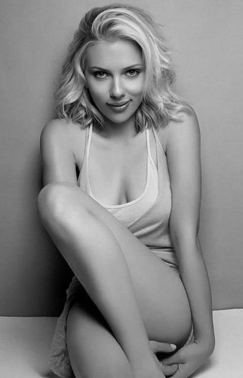 retros2ova3hoes: Titty Tuesday ? Scarlett Johansson